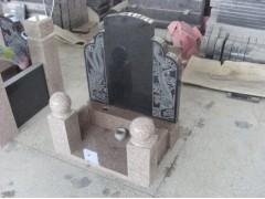 供应中式浮雕,浮雕龙凤墓碑板,圆形风水球雕刻,花岗岩墓碑