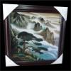 供应石影雕艺术,风景画影雕,黄山风景雕刻,迎客松雕刻