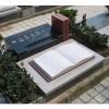 供应墓碑雕刻,中式墓碑,花岗岩墓碑。白色书形墓碑