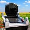 供应墓碑雕刻,中式墓碑雕刻,黑色墓碑,花岗岩墓碑