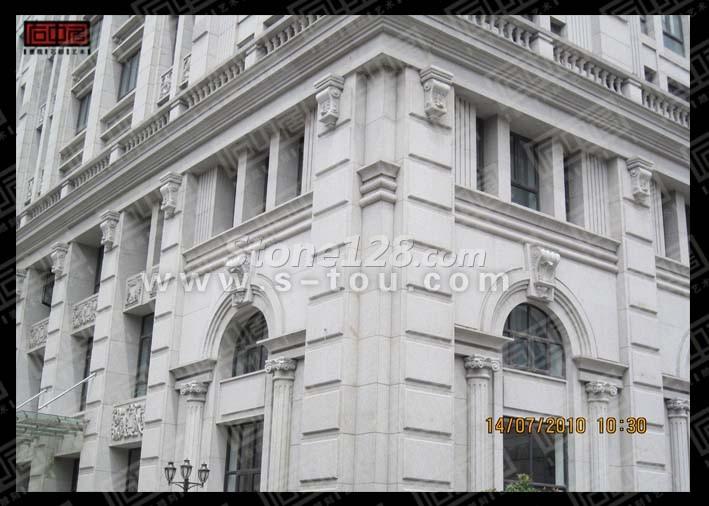 石材线条 石材浮雕 石材工程板 别墅门窗套石材干挂 别墅大门