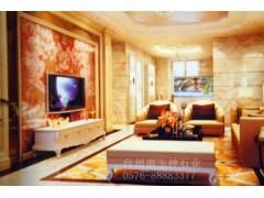 背景墙/供应工程案例,高档别墅装饰案例,玉石电视背景墙,透光背景墙