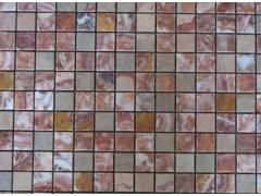 供应彩红色马赛克,小方块马赛克,艺术马赛克,大理石工艺