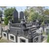 供应工程案例,墓园工程案例,青石墓碑雕刻,异形灯笼墓石配套