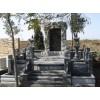 供应工程案例,中式墓碑雕刻,浮雕龙凤墓碑石,灯笼狮子墓石配套