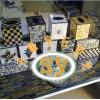 供应纸巾盒石雕,彩色各式石贝纸巾盒雕刻,居家摆设,升耀装饰