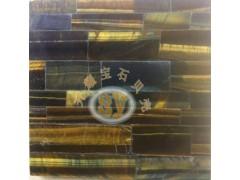 供应虎眼石装饰板,淡金色板材,大气室内装饰,板材加工升耀装