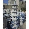 供应灯笼石塔雕刻,白色花岗岩工艺,庭院石灯笼雕刻,大鹏石业