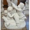 供应汉白玉人物雕刻,西方小天使石雕,艺术浮雕工艺,英皇石材
