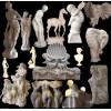 供应西方雕塑工艺,天使雕刻,裸女艺术石雕,汉白玉大理石雕刻