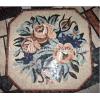 供应彩色拼花地铺,花朵马赛克拼花,大理石工艺,康利德工艺