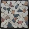 供应石英石碎拼工艺,乱型石材加工,艺术墙面装饰,康利德板材