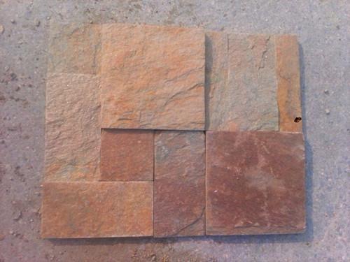 黄土锈(锈石英)组合板