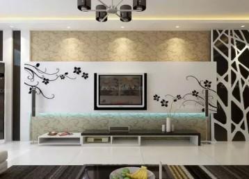 赏析:4款石材背景墙装饰实景效果图