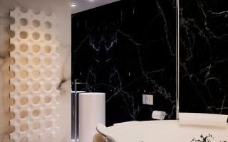 【石材炫酷切割】打造最具高科技质感的现代住宅