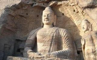 中国五方大佛、四大菩萨造像
