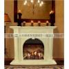 石雕欧式壁炉 汉白玉精美雕刻罗马柱欧式壁炉