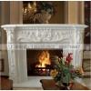 石雕欧式壁炉 大理石汉白玉细致雕刻精美雕花壁炉