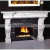 石雕欧式壁炉 精美雕刻欧式石狮子壁炉