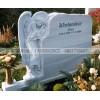 如生雕塑供应欧式西方人物天使石雕墓碑