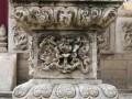 千年风霜,千般面孔-中华石雕柱纹