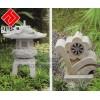 供应花岗岩小灯笼雕刻,庭院标记雕刻