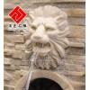 供应砂岩动物雕刻,狮头喷水石雕