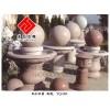 供应艺术风水球雕刻,园林产品石雕,花岗岩板材加工