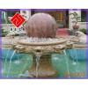 供应艺术喷水池,大理石风水球雕刻,汉匠石雕
