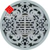供应圆形镂空浮雕板,砂岩板材加工,中式浮雕艺术