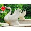 供应天鹅喷泉石雕,花岗岩大理石雕刻,汉匠雕塑