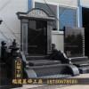 福建石刻墓碑加工厂 中式风格 石雕墓碑 批发山西黑豪华艺术碑