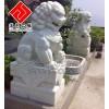 供应园林石狮雕塑,北京狮雕刻,大理石动物石雕,汉匠雕塑