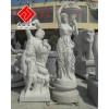 供应花岗岩西方雕塑,男女人体艺术雕刻,汉匠雕塑